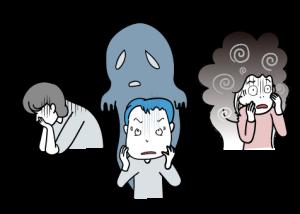 統合失調症の症状をイラストでご説明します。