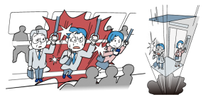 パニック障害とは?その概要をイラストにしました。